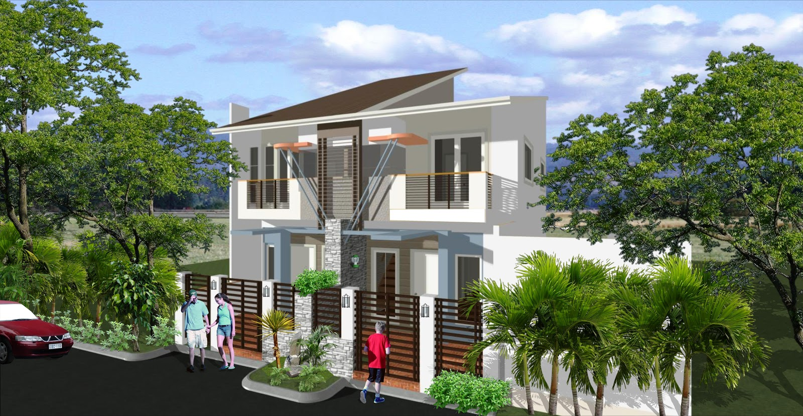 Dream home designs erecre group realty design and for Philippine home designs ideas