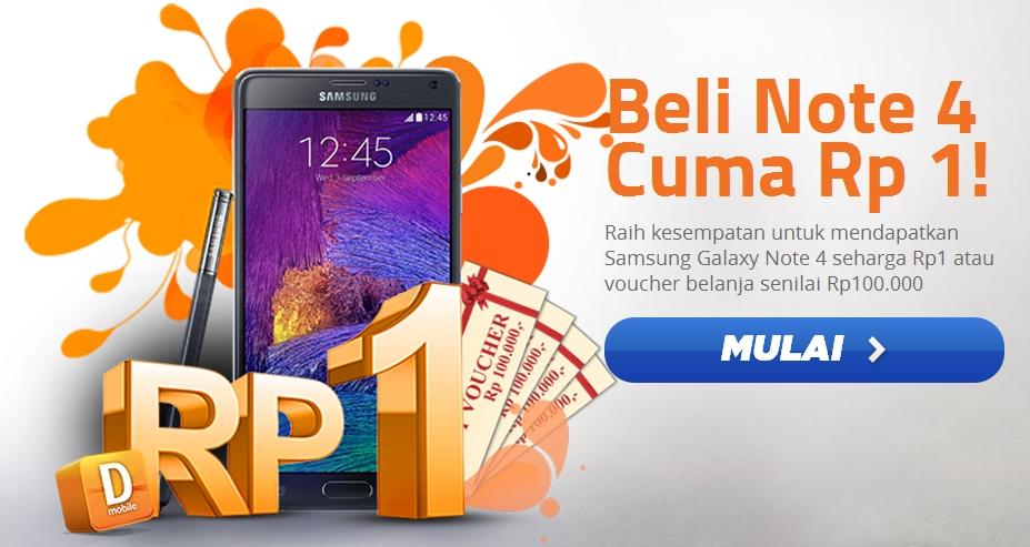 Kontes Samsung Galaxy Note 4 Rp 1 Danamon