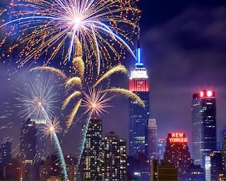 Gambar Kembang Api Tahun Baru 2016 New York Fireworks Happy New Year HD Wallpaper