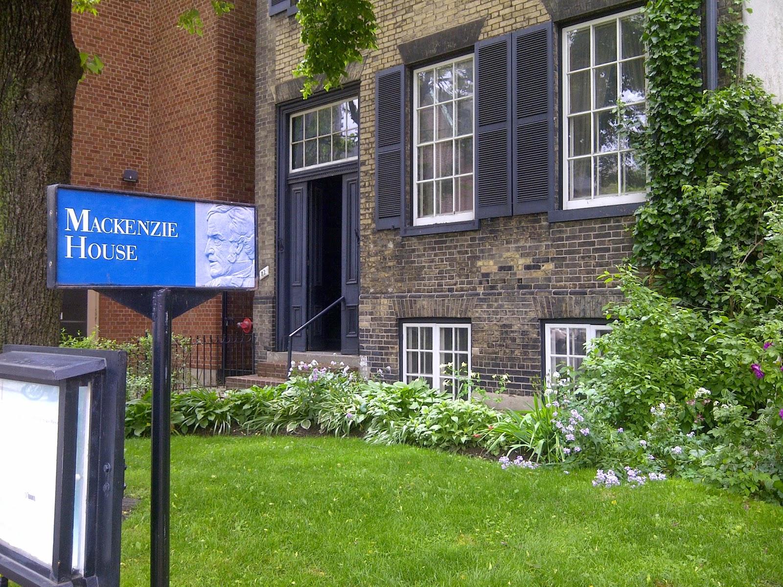 Mackenzie House Museum, Toronto
