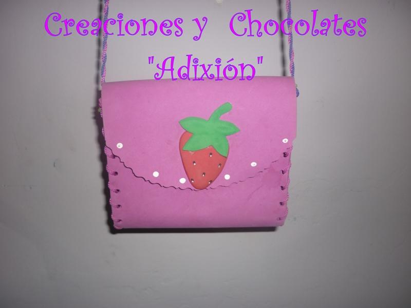 """Cotillon ,chocolates y creaciones """"Adixión"""": Canasta de Frutillita"""