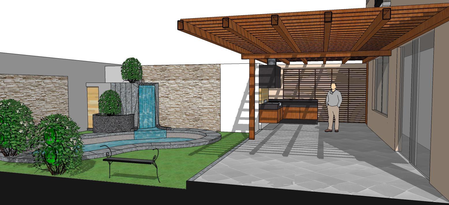 oniria remodelaci n integral de terraza y construcci n de. Black Bedroom Furniture Sets. Home Design Ideas