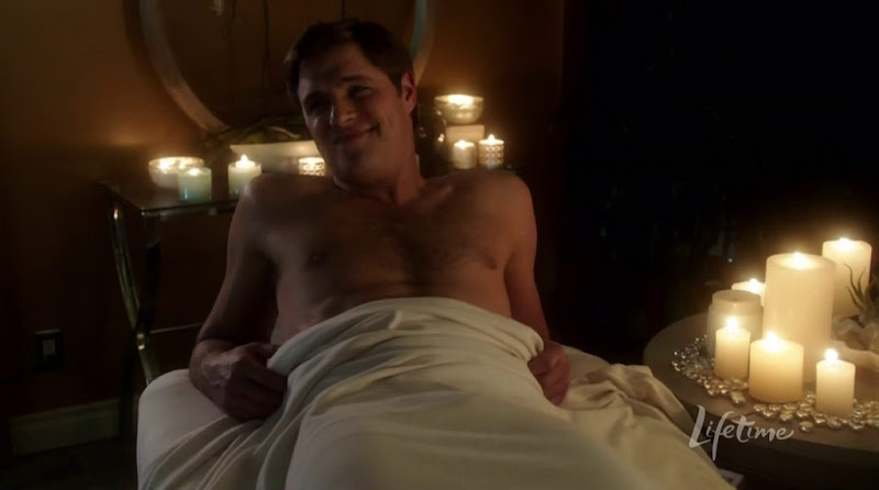 Sam Page Shirtless in The Client List s1e02