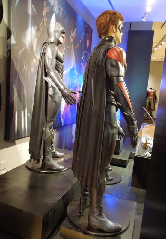 Batman and Robin movie costume capes