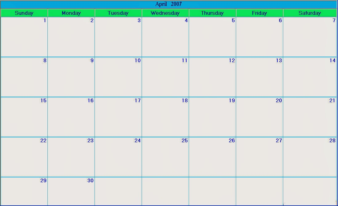 Blank Calendar 2013 - 2014 | 2015 Blank Calendar - calendar en - WWW ...