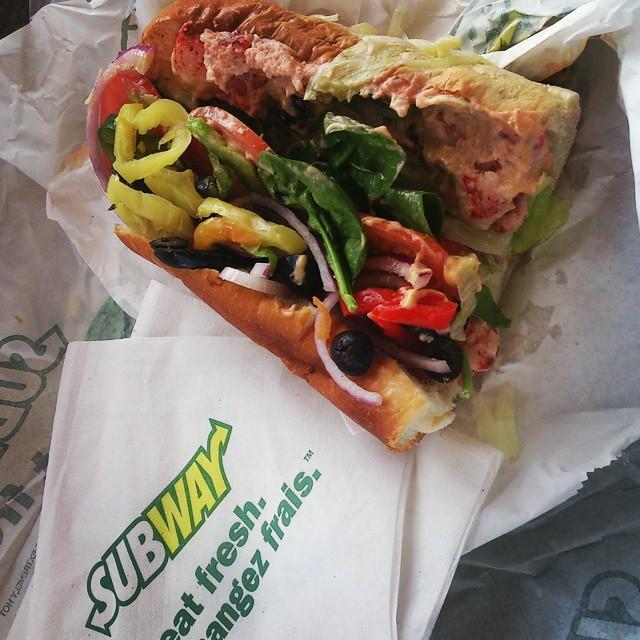 #SubwayHomard: Le meilleur homard sur le pouce!