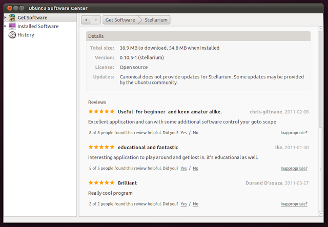 Ubuntu 11.04 software center