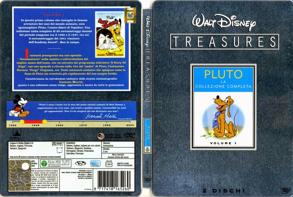 Disney animazione: walt disney treasures pluto la collezione