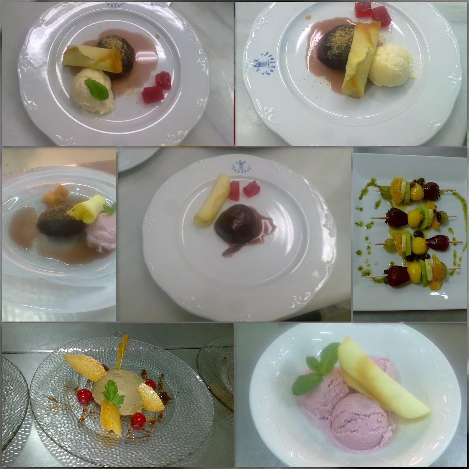 Entre fogones y micros ideas de decoraci n de helados y fruta - Decoracion de helados ...