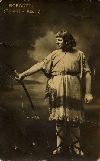 ITALIAN TENOR GIUSEPPE BORGATTI (1871-1950) CD