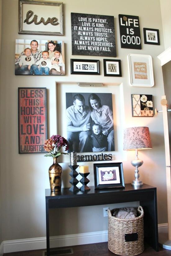 Front Foyer Decor Ideas : Pink pretty home decor sunday front entrance hallway