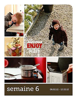 projet 52 semaines semaine 06 page de gauche