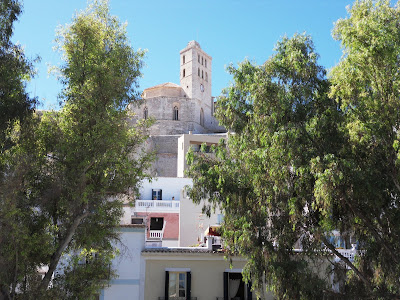 The Cathedral at Ibiza Old Town Santa Maria d'Eivissa