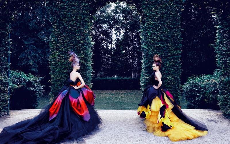 Dior Couture by Patrick Demarchelier | Ses Rêveries | Ses Rêveries