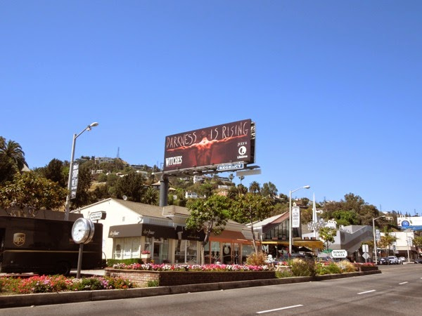 Darkness is rising Witches season 2 billboard