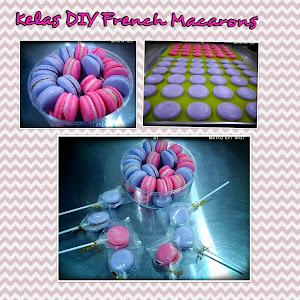 kelas DIY French Macarons RM250