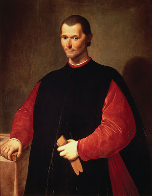 Niccolò Machiavelli - by Santi di Tito, 16th century - public domain, via Wikimedia Commons