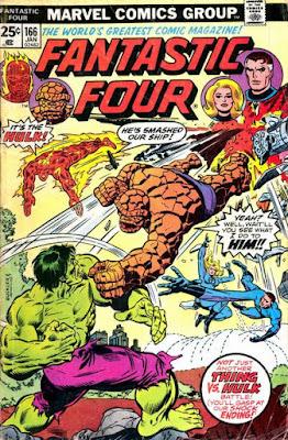 Fantastic Four #166, Hulk