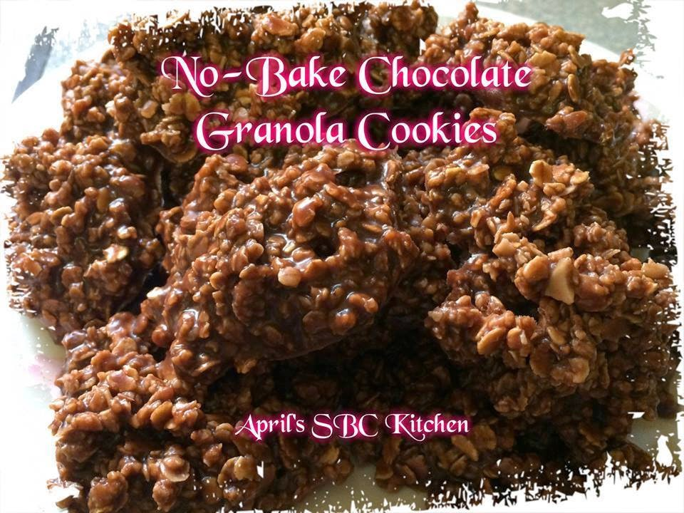 No-Bake Chocolate Granola Cookies