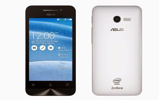 Harga HP Asus Zenfone 4 A400CG Terbaru, Ponsel Android dg Ram 1 GB