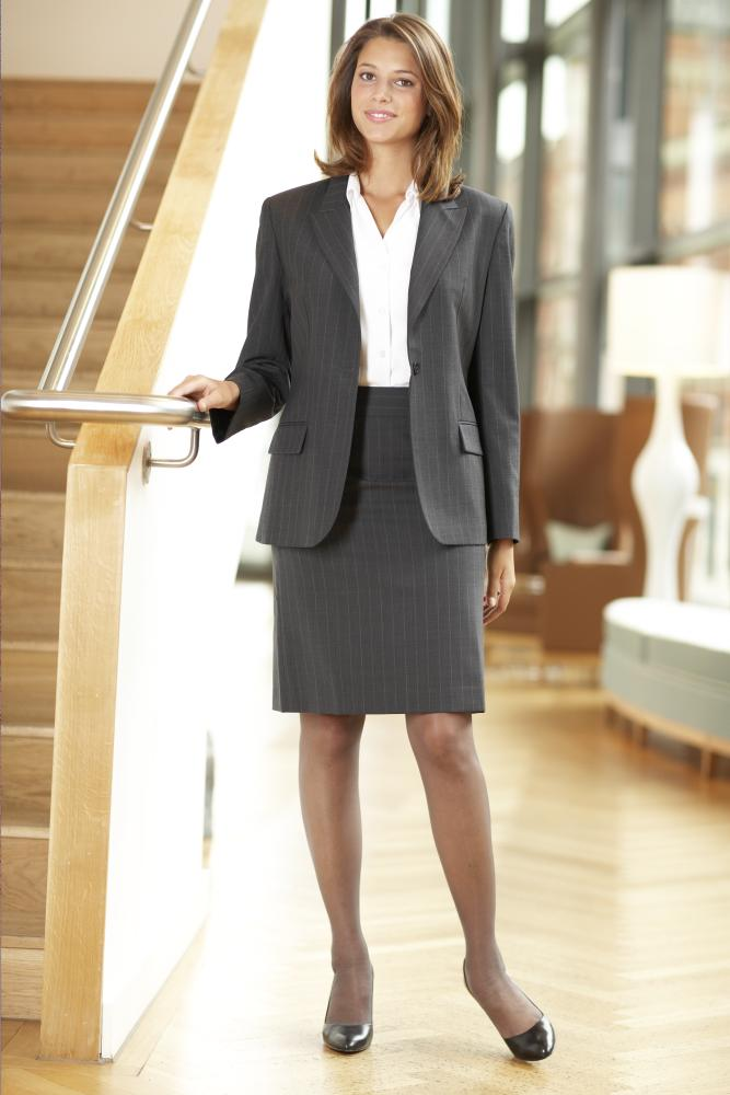 Business woman in pantyhose