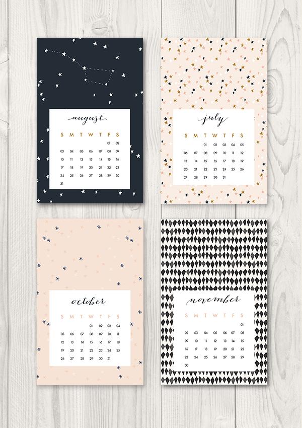 Calendar Diy Tumblr : Oh the lovely things free printable calendar