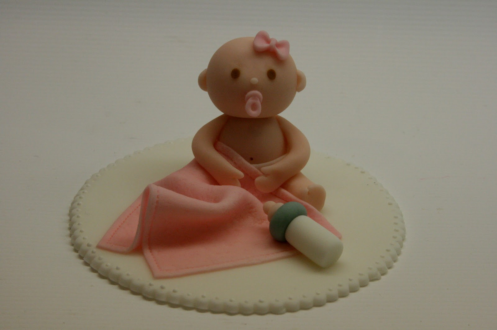 Cake Toppers Baby Girl : Beautiful Kitchen: Baby Girl Cake Topper for Ashley