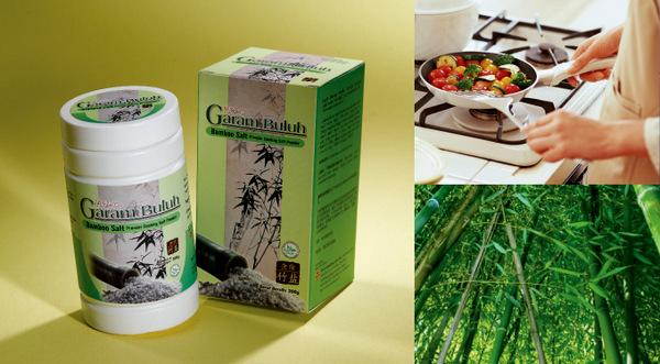 Garam Buluh Hai-O Premier Cooking Salt utk menambah kesihatan drp Green Leaders Academy