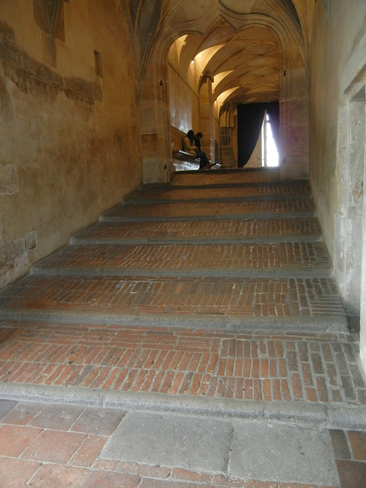 September 2015 prague castle district and lesser town where the adjacent riders staircase made it possible for mounted knights to enter the hall for tournaments without getting off their horses arubaitofo Choice Image
