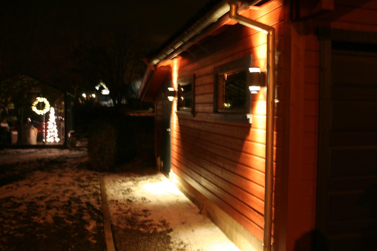Hagegnomen Bjarnes hageblogg: Belysning ute : belysning ute : Inredning