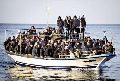 Lampedusa refugees #13