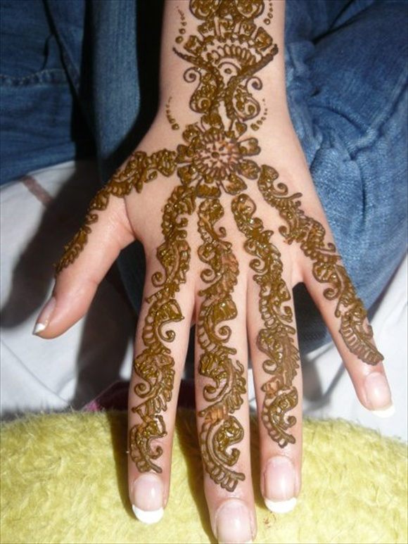 arabic henna designs hands