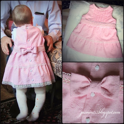 Как строится выкройка: платье для девочки 1 год 91