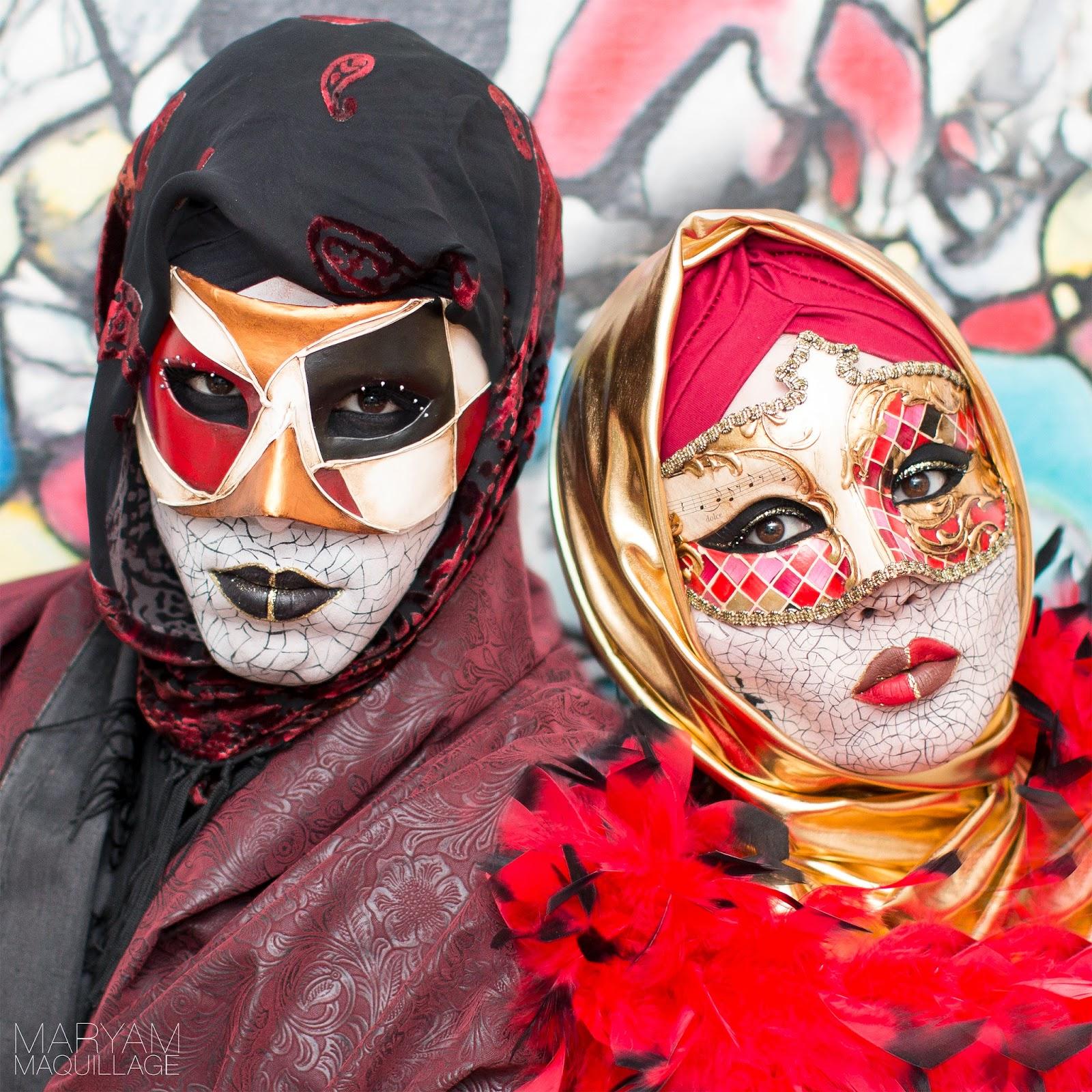 Maryam Maquillage Venetian Assassins Halloween Makeup
