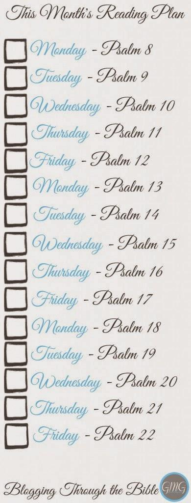 Psalms Bookmark