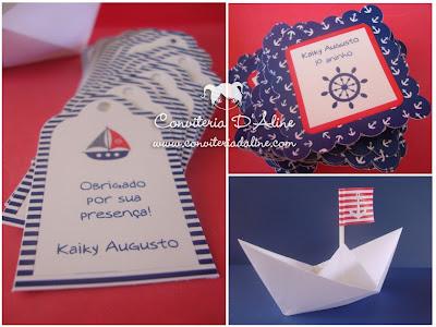 tags e adesivos festa marinheiro