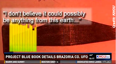 UFO Encounter By Brazoria County Sheriff Deputies