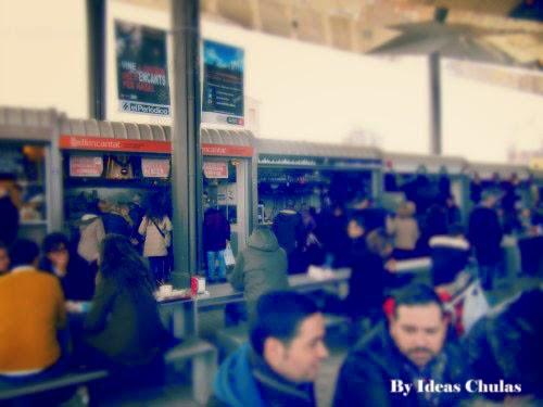 Street Food Els Encants Barcelona