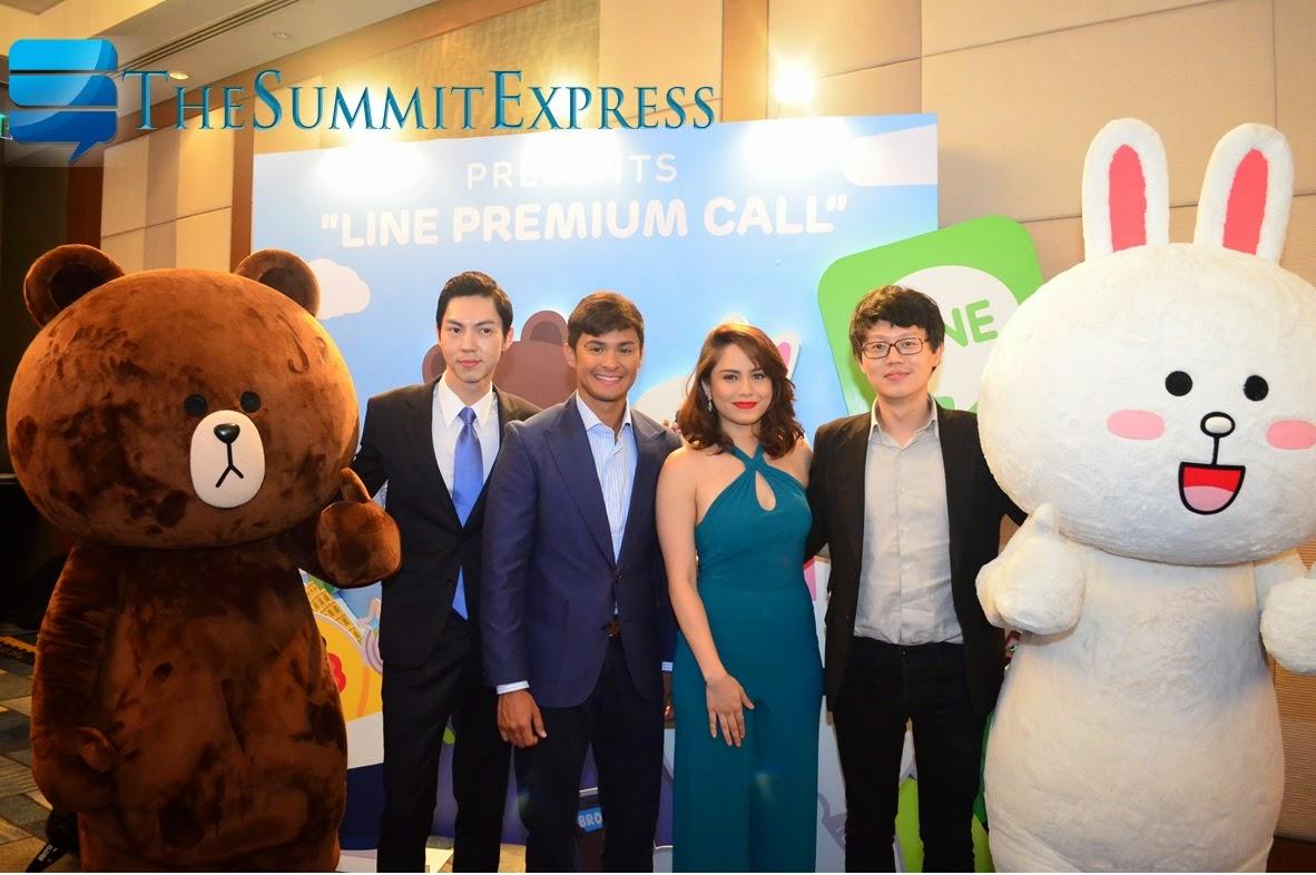 Jessy Mendiola, Matteo Guidicelli LINE Premium Call launch