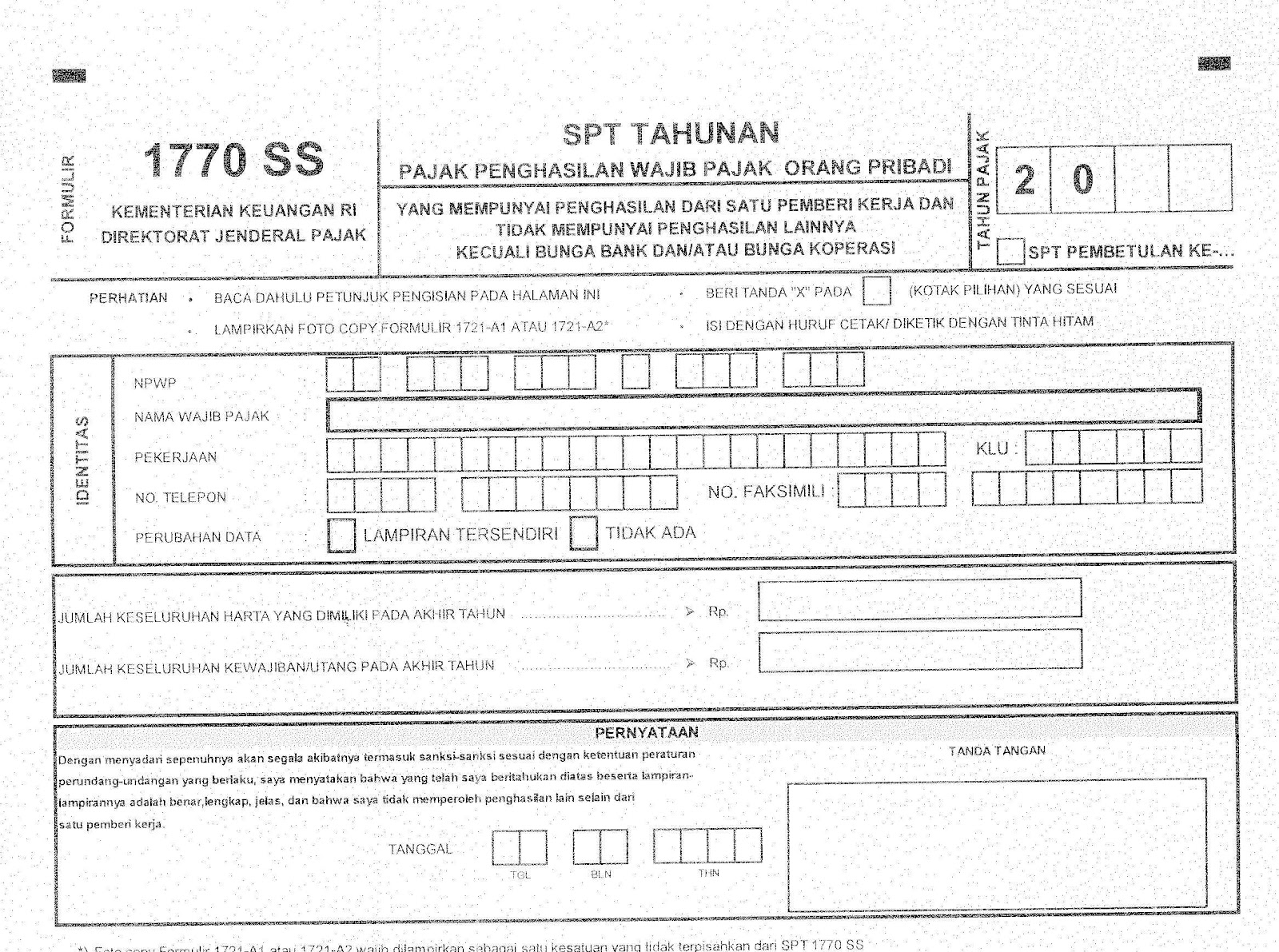 download form spt tahunan 1770