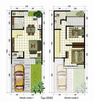 denah dan gambar rumah on Desain Rumah Minimalis: DENAH RUMAH ANDA