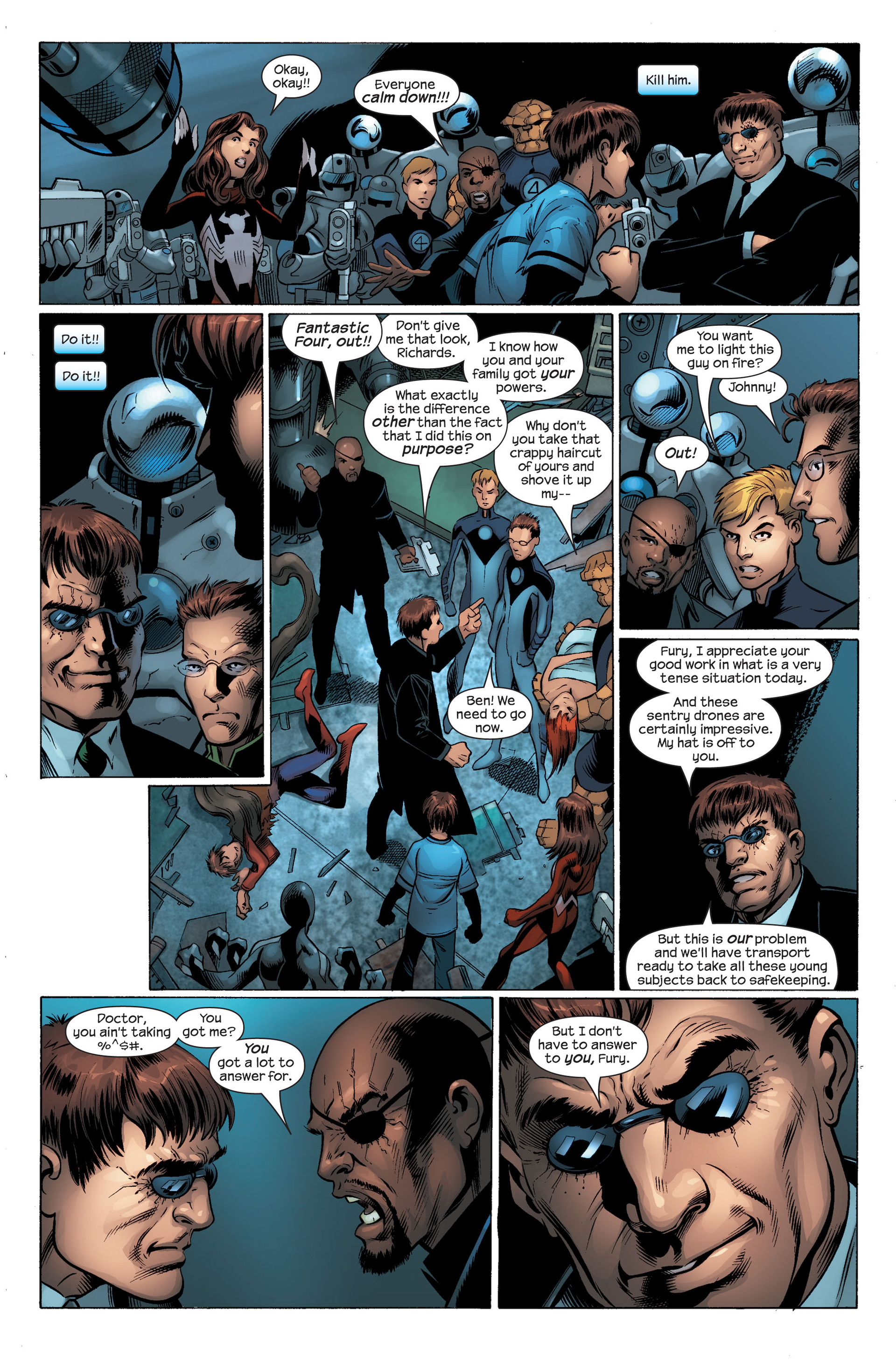 Ultimate Spider-Man (2000) Issue #103 #107 - English 11