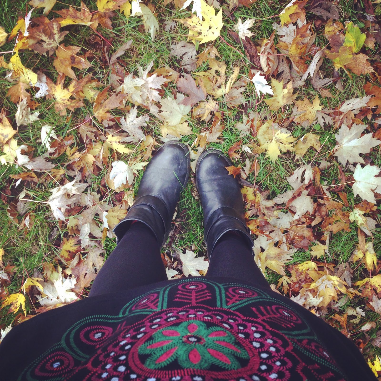 Autumn Leaves London