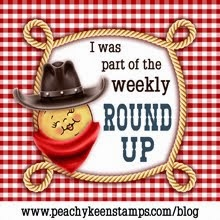 I made the Peachy Keen Round Up!!