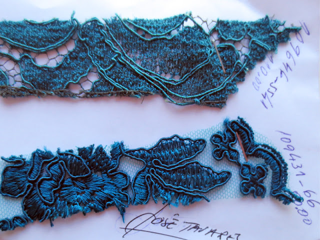 Lace samples | www.stinap.com