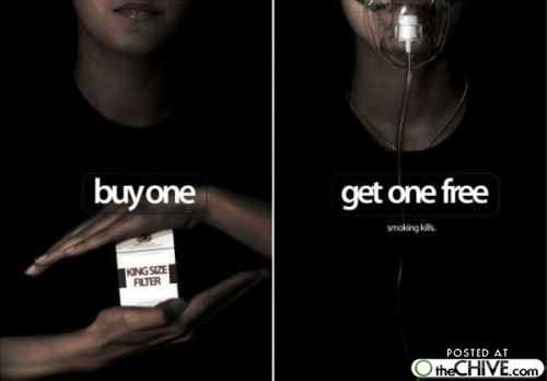 an argument against smoking advertisements Smoking cigarettes is detrimental to one's health however, banning tobacco advertisements is wrong individual broadcasters should be able to choose whether they want to air tobacco advertisements, but a blanket ban on tobacco commercials violates the freedom of speech of tobacco companies.