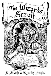 """The Wizard's Scroll"" Swords & Wizardry Zine"