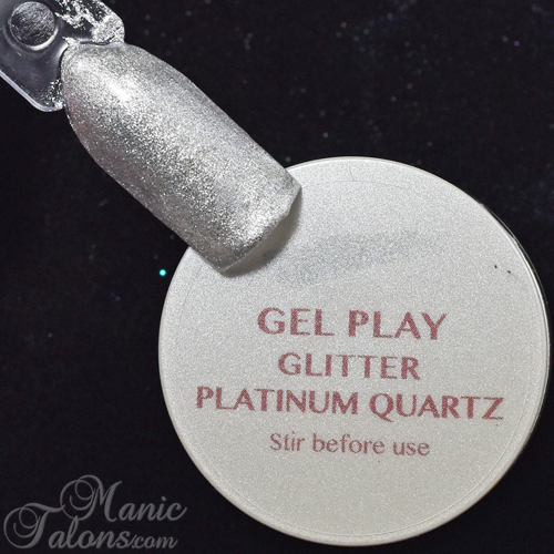 Akzentz Gel Play Platinum Quartz Swatch