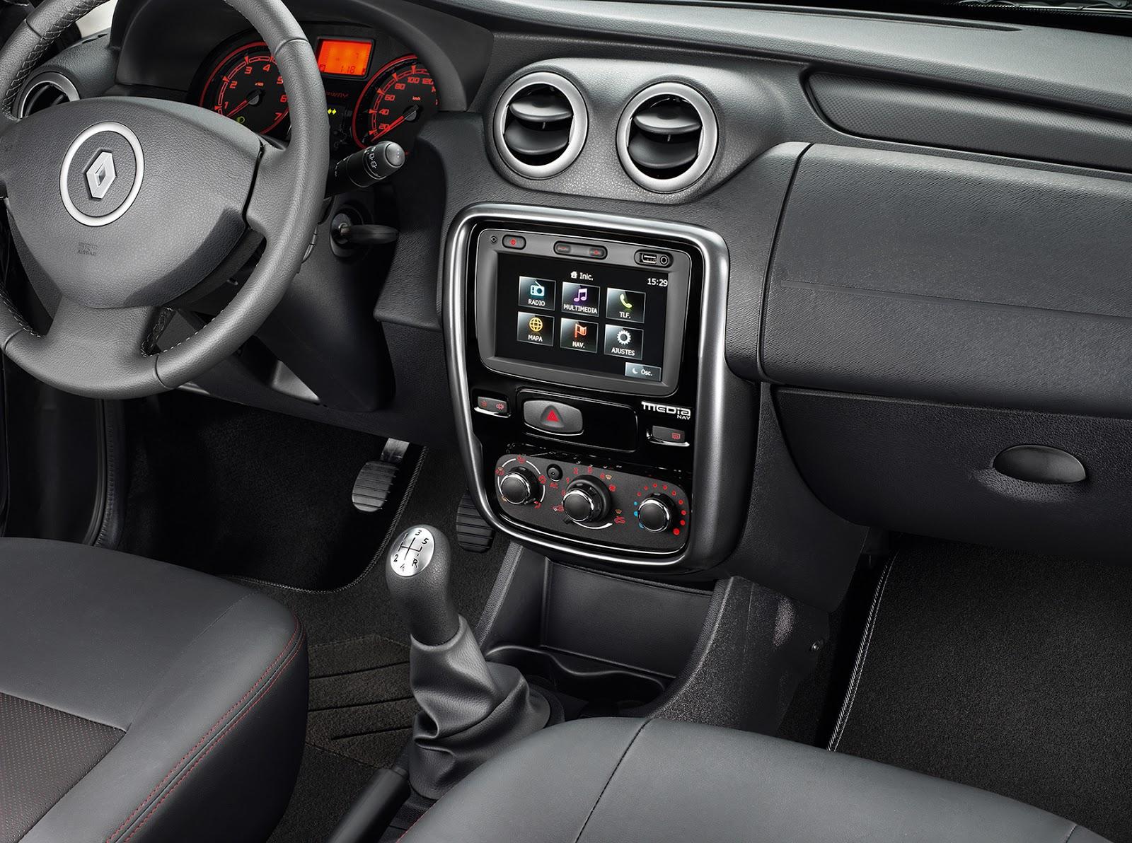 Navegador Media Nav, novedad en la gama Renault 2014