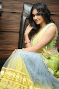 Adah sharma glam pics in saree-thumbnail-11